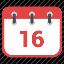 calendar, date, milestones, schedule icon