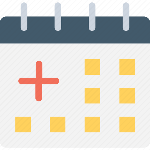medical calendar, medical conference, medical events, medical programs, pharmaceutical event icon