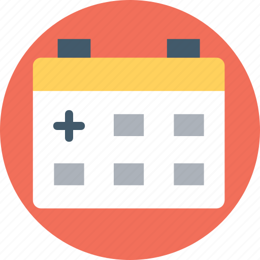 hospital schedule, medical appointments, medical calendar, medical events, medical holidays icon