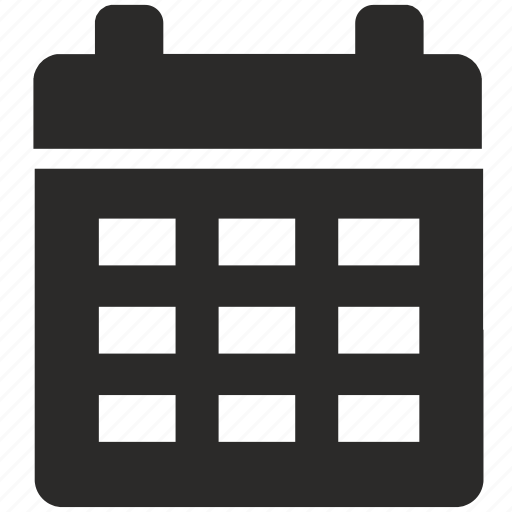 calendar, date, day, grid icon