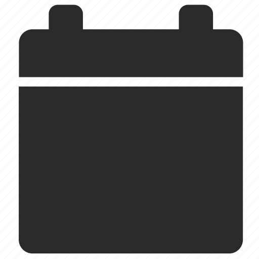 app, calendar, date, empty icon