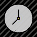 calendar, clock, date, hour, time, timer, watch