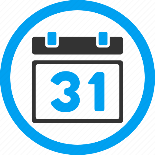 31st date, appointment, calendar, last day, month, plan, schedule icon