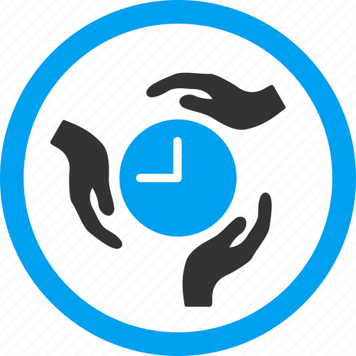 clock, hands, hour, insurance, protection, safety, time service icon
