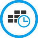 calendar, clock, deadline, event, minute, schedule, time table icon