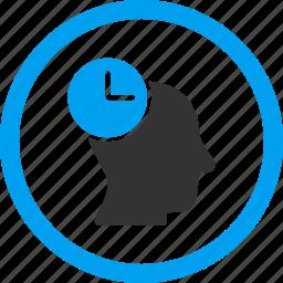 clock, event, idea, knowledge, schedule, time management, wait icon