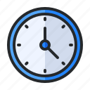 alarm, alert, bell, clock, notification, time, timer icon