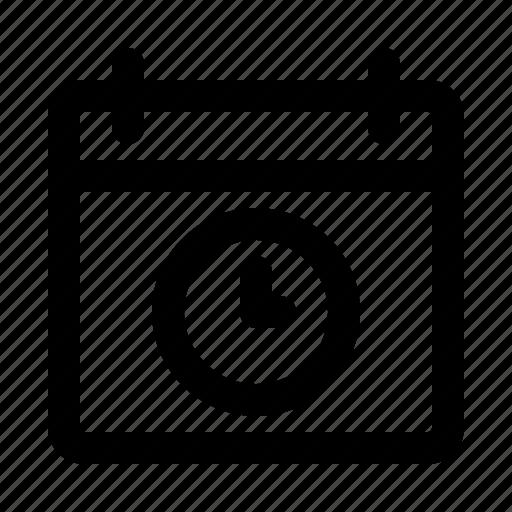 app, calendar, interface, software, time, ui, ux icon