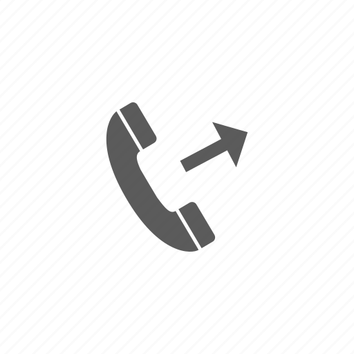 arrow, call, outgoing call, phone icon