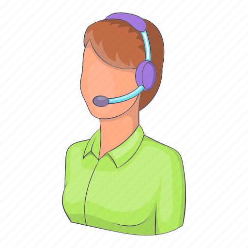 Call, center, customer, illustration, isometric, woman operator icon - Download on Iconfinder