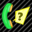 call, center, customer, green handset, illustration, support icon