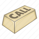 call, call button, center, customer, illustration, isometric icon
