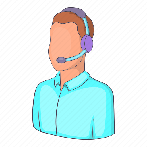 Call, center, customer, illustration, isometric, man operator, operator icon - Download on Iconfinder