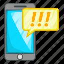 call, cartoon, center, customer, illustration, mobile phone icon