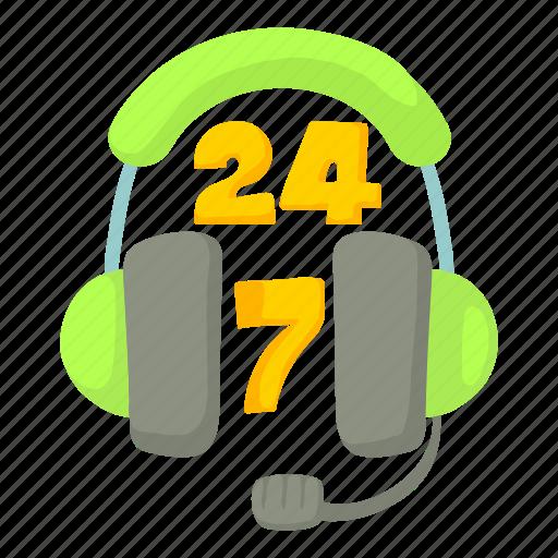 cartoon, green, headphone, headset, microphone, phone, support icon