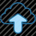upload, up, cloud, action