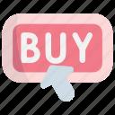 buy, shop, shopping, button, action