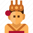 angkor, apsara, avatar, cambodia, cloth, people, woman icon