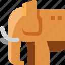 animal, cambodia, elephant, mammal, pet, wildlife, zoo icon