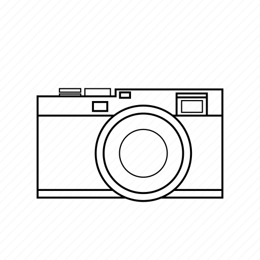 camera, digital, flash, image, lens, photography, vintage icon