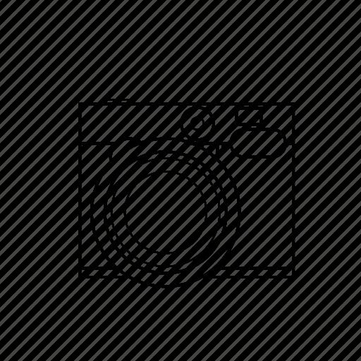 camera, capture, instagram, photo, retro, square, vintage icon