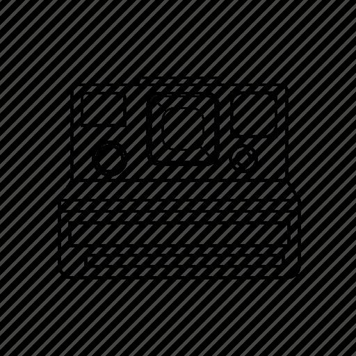 polaroid, vintage icon