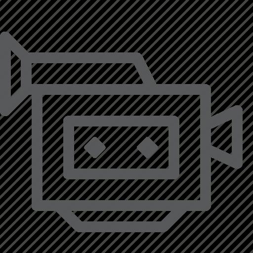 camera, control, device, film, movie, video, watch icon