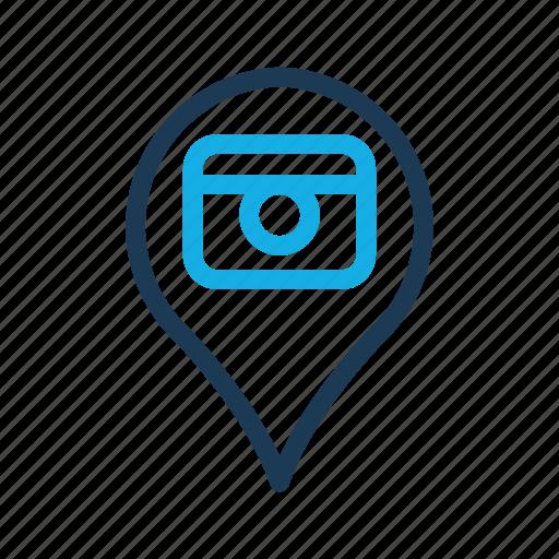 camera, coins, money, shop, social icon