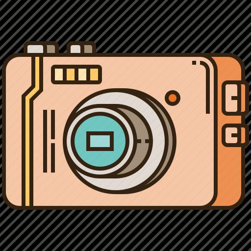 camera, compact, photo, photographer, photography icon