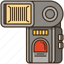 camera, equipment, flash, photographer, photography icon
