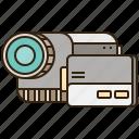 camera, photography, recording, video icon