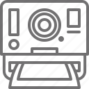 camera, classic, photo, photography, polaroid, print icon