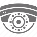 cctv, cctv camera, dome camera, monitoring camera, security camera icon