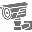 cctv, monitoring camera, safety, security camera icon