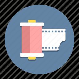 cinema, film, image, movie, roll, shoot, theater icon