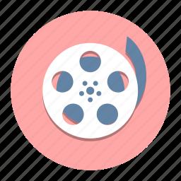 cinema, film, movie, projection, retro, shoot, theater icon