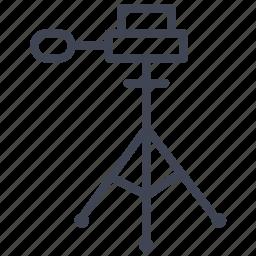 camera, equipment, photography, stand, tripod icon