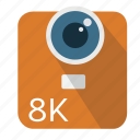 camera, digital, high resolution, lens, long shadow, material icon