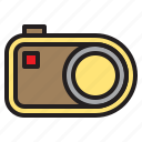 beauty, camera, compact, digital, flash, happy, photo icon