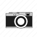 camera, digital, image, lens, photo, retro, selfie icon