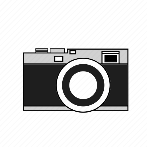 camera, digital, image, lens, photo, retro, selfie icon