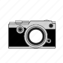 camera, digital, image, lens, mirrorless, photo, selfie icon