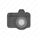 camera, canon, digital, dslr, lens, nikon, photo icon
