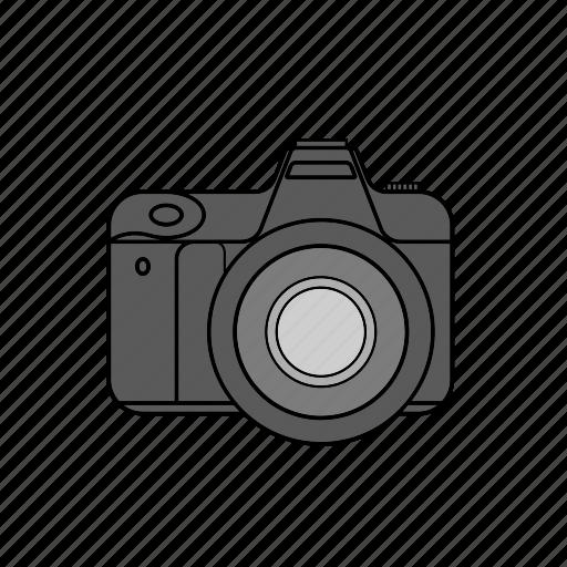 camera, canon, digital, dslr, lens, nikon, photo icon