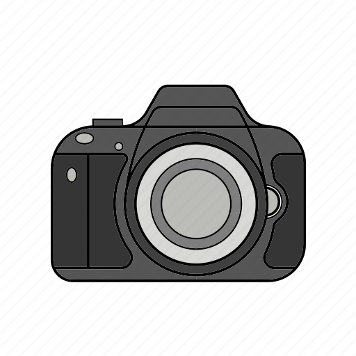 camera, capture, digital, dslr, flash, lens, photography icon