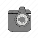 camera, canon, digital, dslr, nikon, photography icon