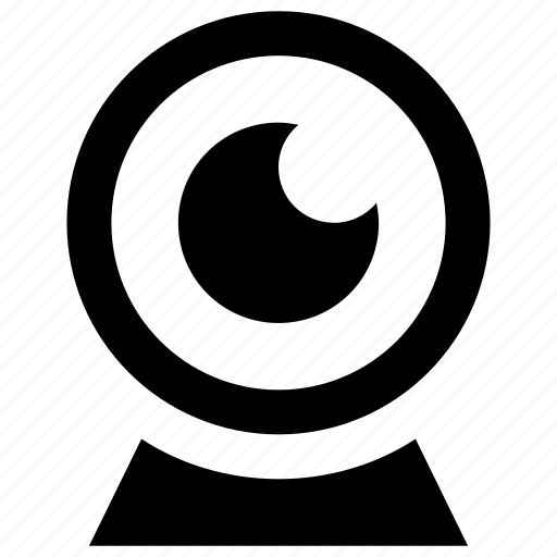 camera, cctv, internet camera, rangerfiled, webcam icon