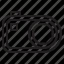 beauty, camera, compact, digital, flash, happy, photo icon