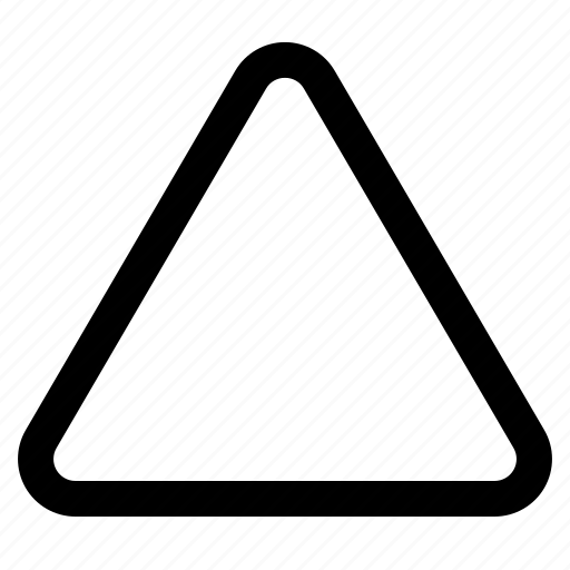 angle, pyramid, sharp, sharpen, structure, triangle, warning icon