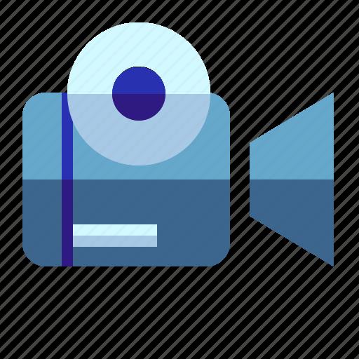 media, movie, record, video icon